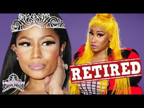 Nicki Minaj says she's done with rap music! Is she really retiring...or trolling?