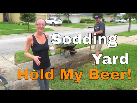 How To Sod Yard With St. Augustine