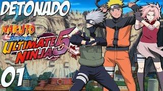 "Naruto Shippuden Ultimate Ninja 5 Detonado #1 PT-BR ""A chegada de Naruto!"" [PS2]【Full HD 60 FPS】"