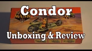 MASK Condor Toy Review & Unboxing (Kenner M.A.S.K.)