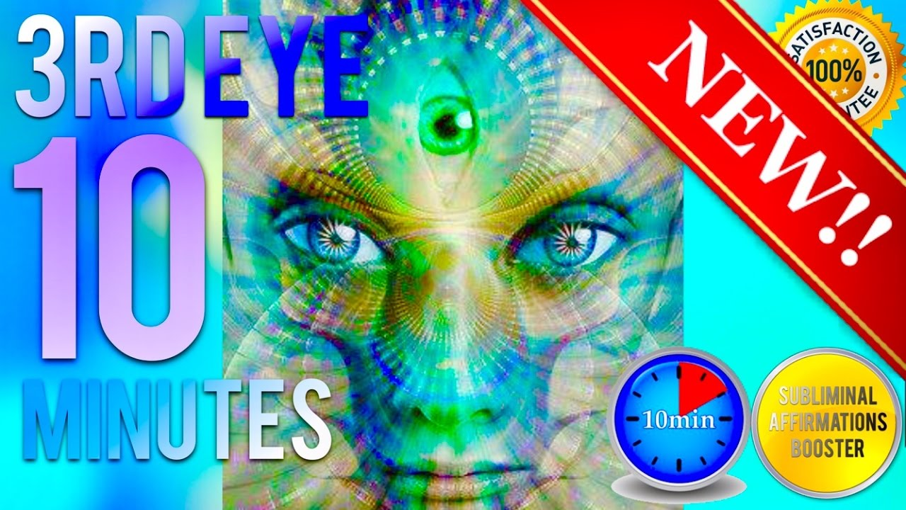 🎧 OPEN YOUR 3RD EYE IN 10 MINUTES! SUBLIMINAL AFFIRMATIONS BOOSTER! REAL  RESULTS DAILY!
