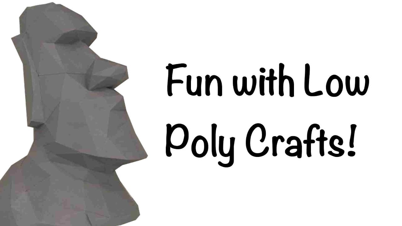 building low poly crafts youtube