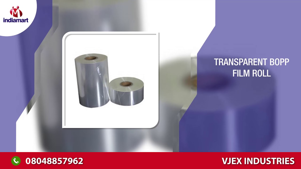 BOPP and Polyester Film Manufacturer