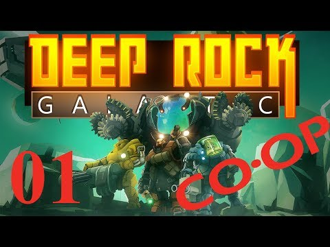 WE ARE IN TOO DEEP - Deep Rock Galactic Part 1 - Coop Mining Adventure