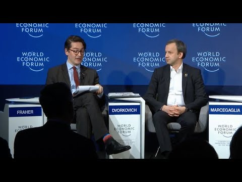 Strategic Outlook, Russia. World Economic Forum 2018, Davos. 24-01-2018