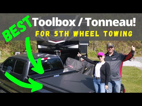 Truck Toolbox And Tonneau For Fifth Wheel [Full Time RV Living]