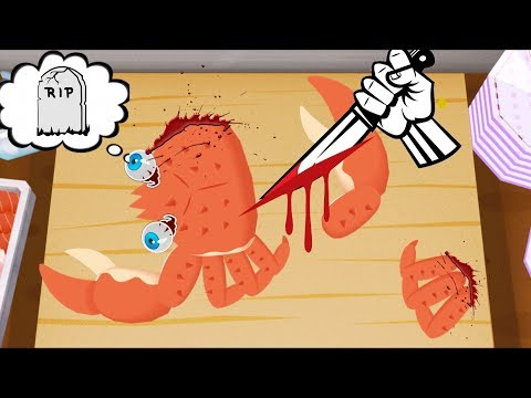 Fun Kids Play Crab Sushi Kitchen Master! To-FU OH! Sushi Lesson for Children