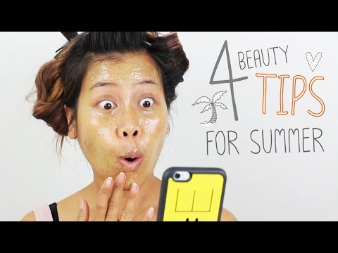 4 Beauty Tips for Summer #beautyboundasia #BBAchallenge1 [ แชร์ 4 เทคนิคสวยล้ำฉ่ำหน้าร้อน ]