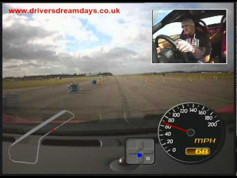 Ferrari 360 Race Day Footage In Car G Meter Forward Cam