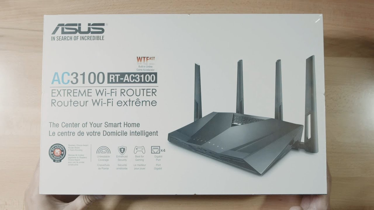 Not a Review] ASUS RT-AC3100 / RT-AC88U Extreme Wi-Fi Router - YouTube