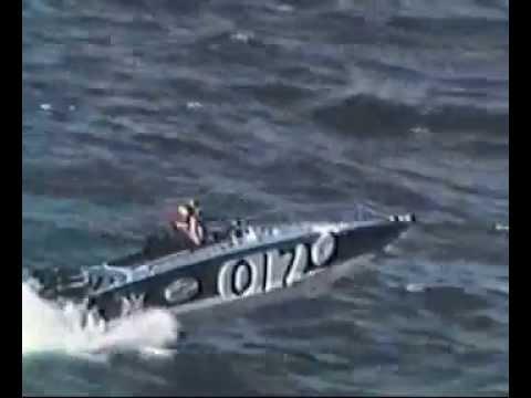 Offshore Powerboat Racing - 1971 Cine Film