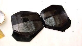 #59: Batman Dark Knight Chest Armor Part 2 - Emblem & Fake Carbon Fiber