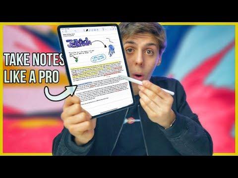Take Notes on iPad PRO like a PRO!