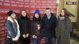 """14 февраля в редакции Mix Media Group прошел традиционный """"День теней"""". Часть 2 #MIXTV"""