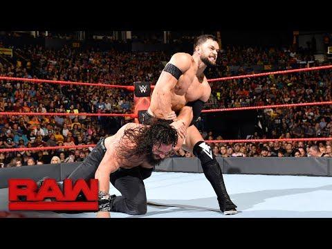Finn Bálor vs. Elias Samson: Raw, July 17, 2017