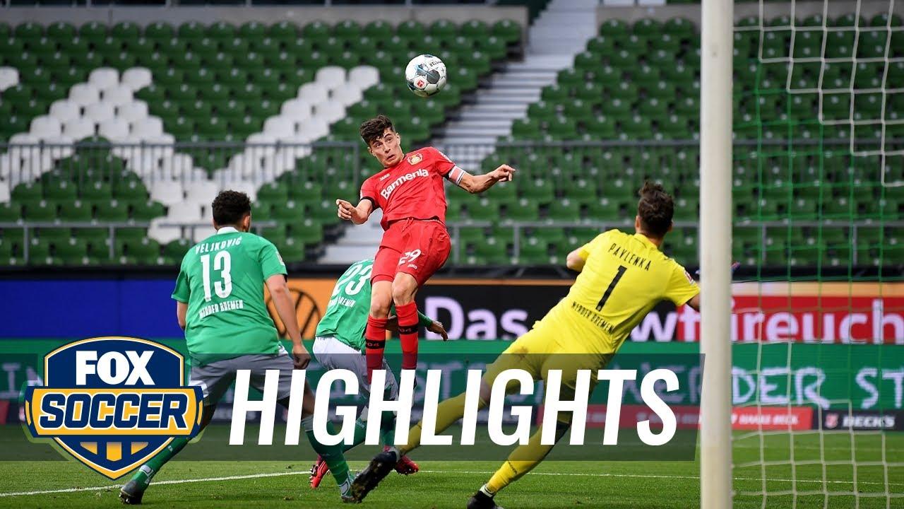 Werder Bremen 1 - 4 Bayer Leverkusen