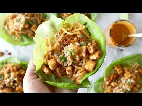 Firecracker Vegan Lettuce Wraps