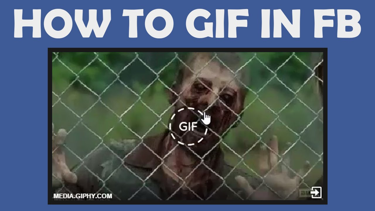 How to post animated gif on your facebook timeline 2015 youtube negle Image collections