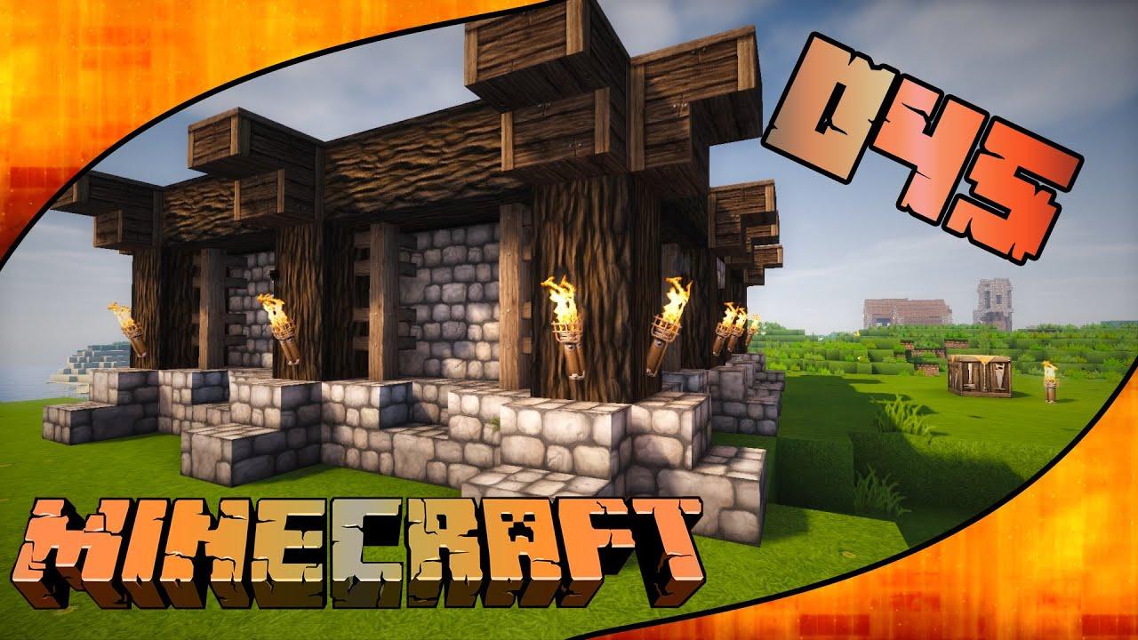 Lets play minecraft 045 ärger beim hausbau gameplay deutsch