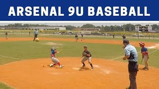 ⚾️ Arsenal vs NW Force | 9U Baseball Highlights