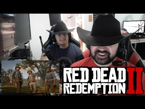 Red Dead Redemption II Gameplay - Angry Trailer Reaction! thumbnail