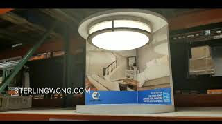"Costco 14"" LED Flush Mount Ceiling Light $24  Energetic Lighting"