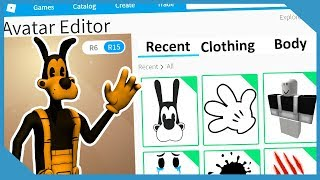 Roblox Making Boris The Wolf An Account (Bendy And The Ink Machine)