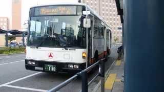 拓殖バスC2001号車 三菱エアロスター(7E 3扉)