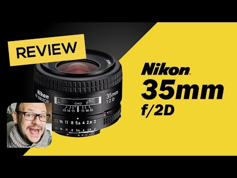 Lente Nikon 35mm F/2.0D - Review em Português - Falando de Foto com Willian Lima