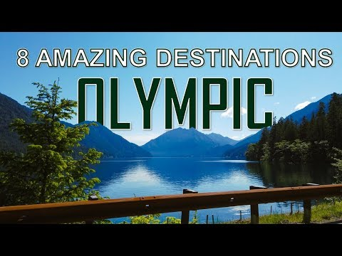 8 Amazing Places in OLYMPIC NATIONAL PARK [4K]