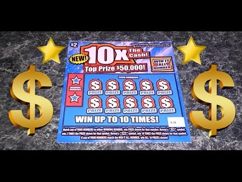 💵$50,000 10x The Cash💵 NC Lottery Scratch Ticket