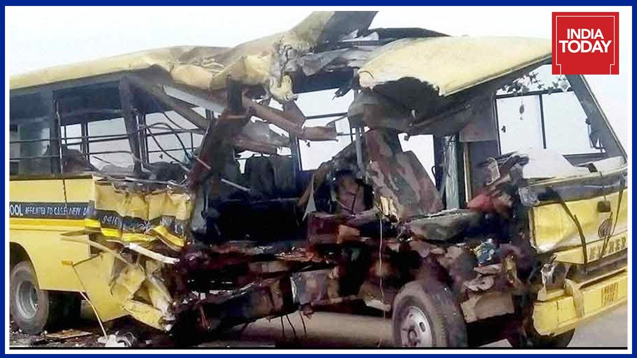 More Than 12 School Students Killed in Bus Accident In Shopian
