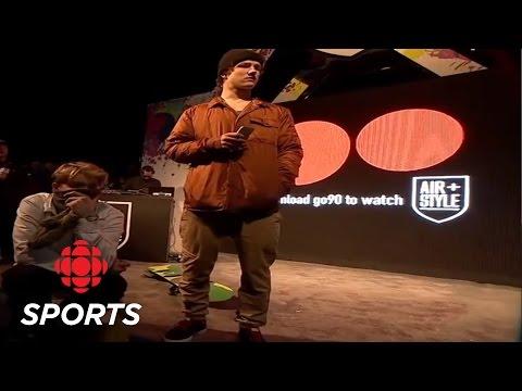 Mark McMorris breaks femur at Air + Style Big Air in Los Angeles   CBC Sports