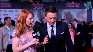 Jeremy Renner Talks About Hawkeye's Stunts