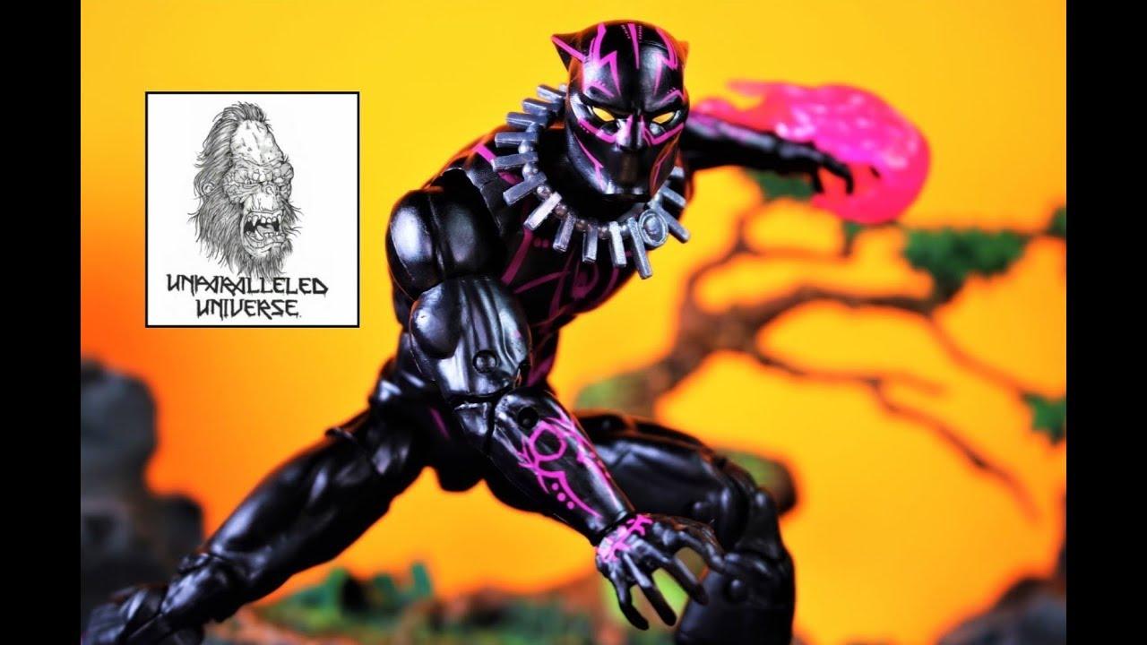 Marvel Legends Black Panther Vibranium Suit Walmart Exclusive In Stock New