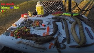 Lake Camanche Bass Trout Collecting Fishing Tackle Amador County California