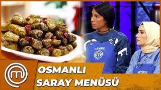 İkinci Dokunulmazlık Oyunu Menüsü   MasterChef Türkiye 15.Bölüm