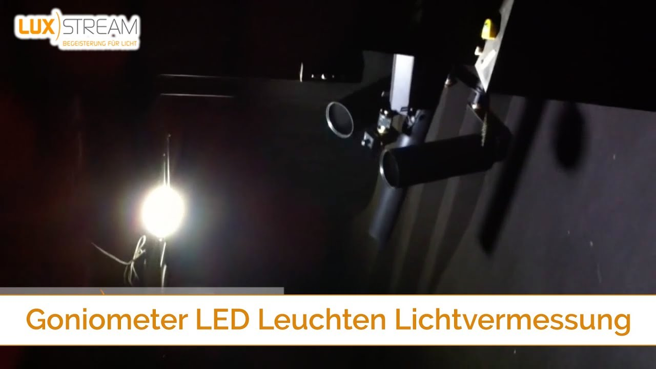 Gamma Led Lampen : Luxstream goniometer led leuchten lichtvermessung youtube