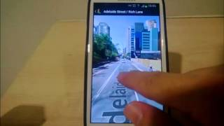 How to Access Street View on Android's Goolge Map ?