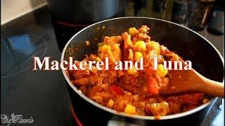 How To Fry Up Mackerel and Tuna & Veg | Chef Ricardo Cooking