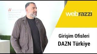 Girişim Ofisleri bu hafta Mackolikin sahibi DAZN Türkiyenin yenilenen ofisinde