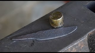 Forging Bearing Roller into Knife