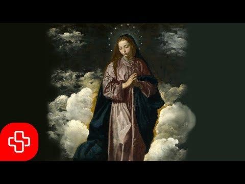 Salve Regina: Gregorian chant (Latin/English Text) Lyric Video