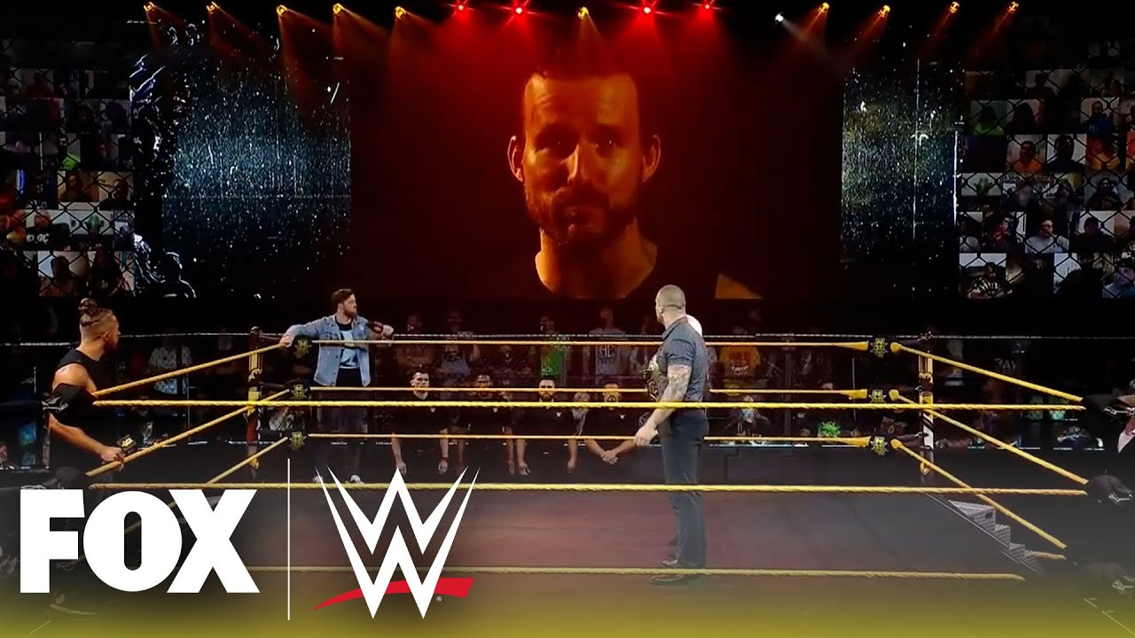 Tensions boil over ahead of five-way NXT Championship Match | NXT | WWE ON FOX