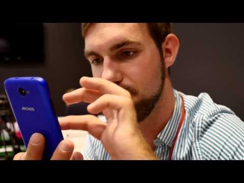 Archos 40 Cesium Smartphone im Hands-On (4k/Deutsch)