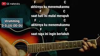 Kunci Gitar AKHIRNYA KU MENEMUKANMU - NAFF | Belajar Chord Gitar