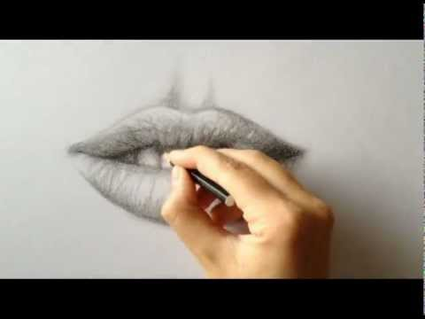 HOW TO DRAW A REALISTIC MOUTH - YouTube