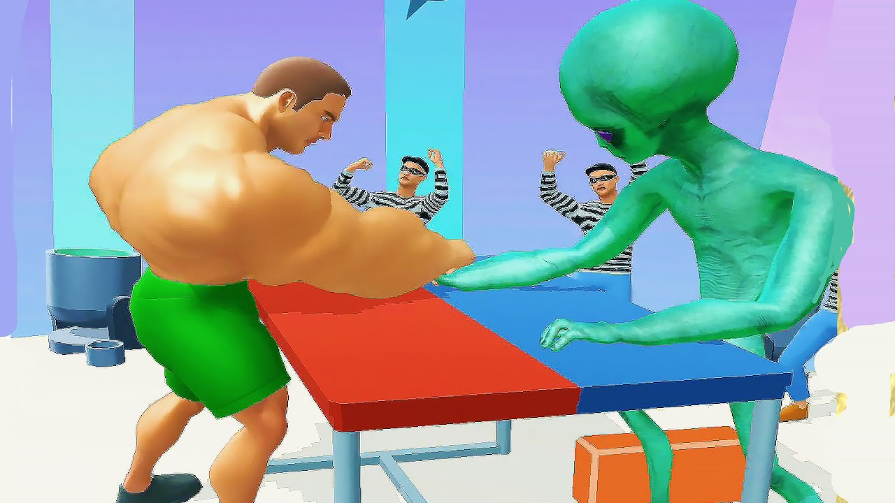 MUSCLE RUSH Game All Levels Gameplay Android,iOS New Level