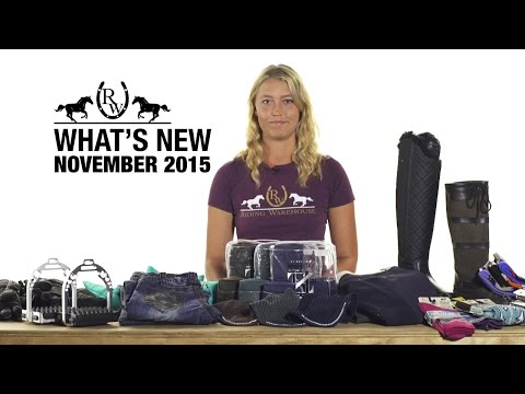 New Products For Horse And Rider - November 2015