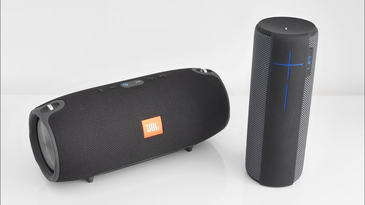 jbl xtreme vs ue megaboom indoor soundcheck doovi. Black Bedroom Furniture Sets. Home Design Ideas
